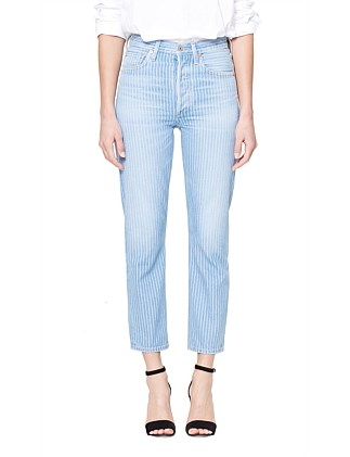 Charlotte Crop High Rise Straight
