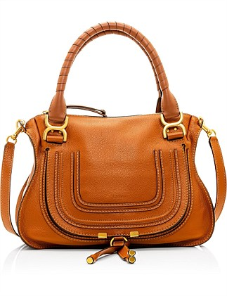 MARCIE MEDIUM LEATHER CARRY BAG