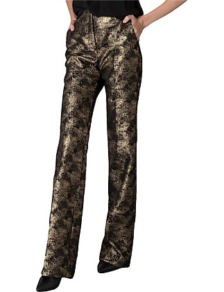 GOLD LUREX BROCADE ROCOCCO PANT