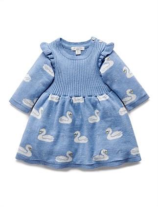 305fe6d1bb SWAN KNIT DRESS