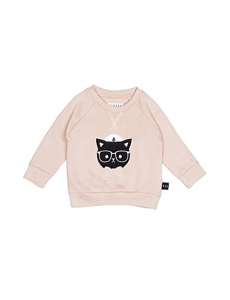 SAILOR CAT SWEATSHIRT