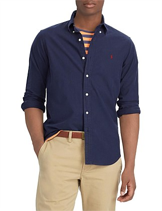 LONG SLEEVE OXFORD SPORT SHIRT