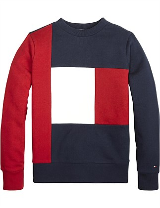 Colorblock Sweatshirt (Boys 8-14 Years)