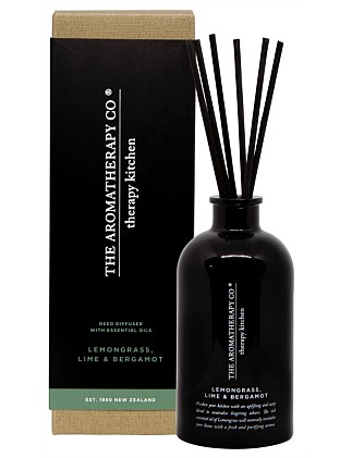 Therapy Kitchen Diffuser - Lemongrass Lime & Bergamot