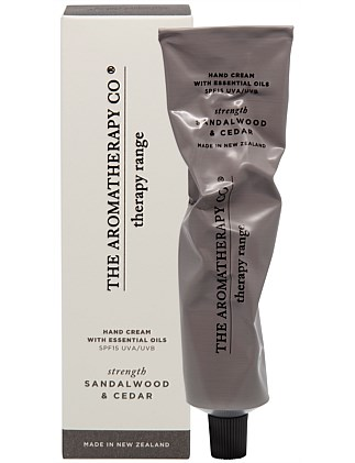 Therapy Hand Cream Strength - Sandalwood & Cedar
