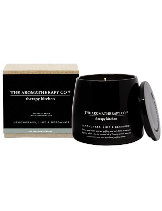 Therapy Kitchen Candle- Lemongrass Lime & Bergamot