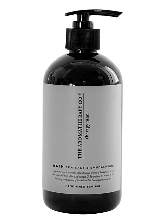 Therapy Man Hand & Body Wash -  Sea Salt & Sandalwood