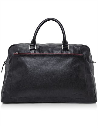 ASTON LEATHER OVERNIGHT BAG