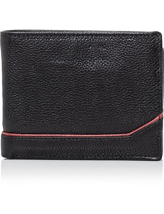 ASTON TRIFOLD LEATHER WALLET