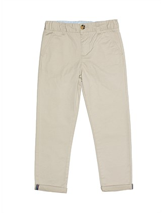 Mini Drill Chino Pant (Boys 3-7 Years)