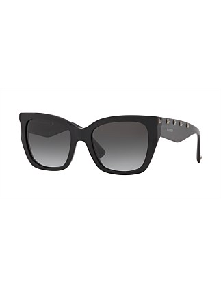 Valentino Cat Eye 50018G Sunglasses
