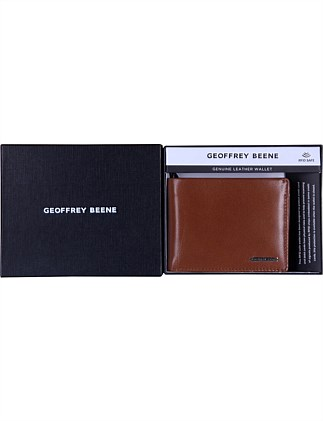 LEATHER BIFOLD FLIP WITH COIN PURSE