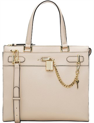 ROXY STRUCTURED SATCHEL SATCHEL LIGHT SAND