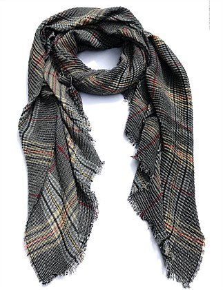 Tweed to the max viscose scarf