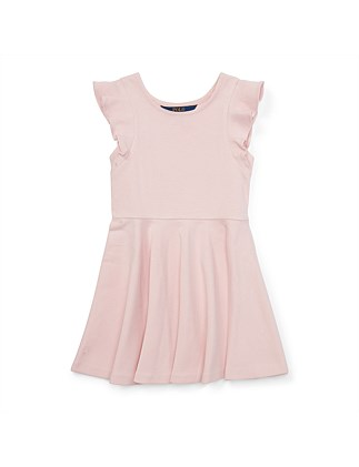 Ruffled Ponte Dress (4-7 Years)