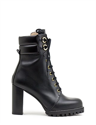 efd7ee516edd KINGSLY LACE UP ANKLE BOOT Special Offer. Asphalt Suede  BLACK. Stuart  Weitzman