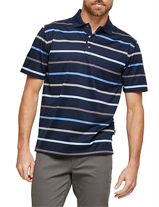 Ned Mercerised Polo