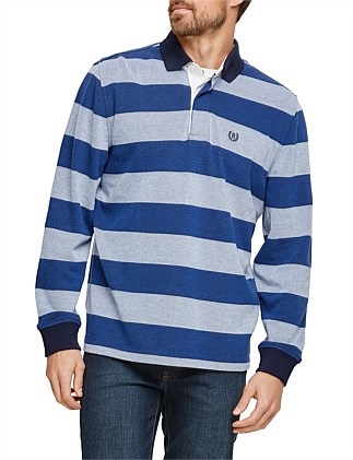 Dean Stripe Rugby Top