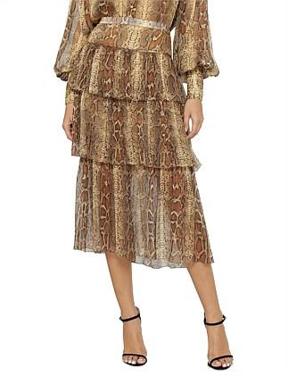 a0d7b89e28759 Ninety-Six Fluted Skirt Special Offer. Zimmermann