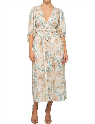 49489322ca Veneto Shirred Waist Dress. Zimmermann