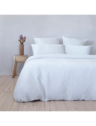 SUPER KING BED FLECK MATELESSE QUILT COVER