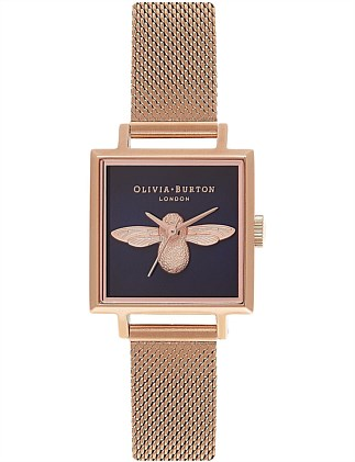 Bee Collection Square Watch