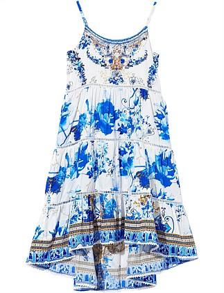 Saint Germaine High-Low Hem Dress (4-10Years)