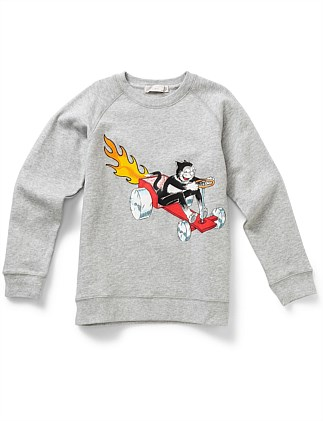 Billy Dandy & Flame Sweater (2-10Years)