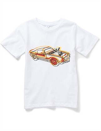 Arlo Car Tee (2-8Years)