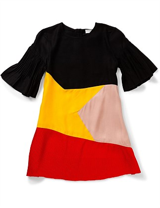 Angeline Color Block Dress (2-10Years)