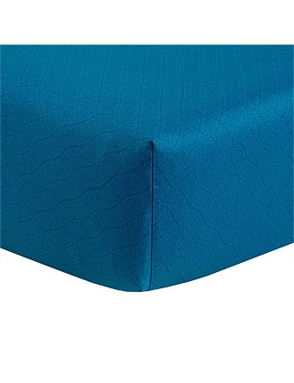DORIA DOUBLE BED FITTED SHEET