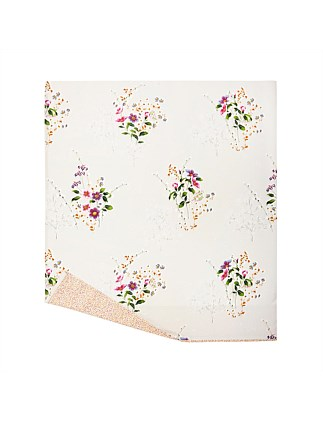 ROMANTIC KING BED FLAT SHEET