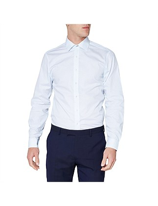 LS FORMAL SHIRT SPOT  PRINT