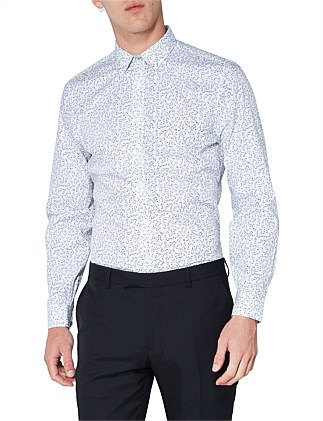 LS FORMAL DITSY SHIRT