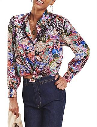 6b5faa2eb902a Zendaya Satin Shirt Ls Special Offer. Tommy Hilfiger