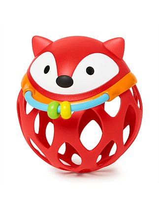 Explore & More Fox Roll Around Rattle