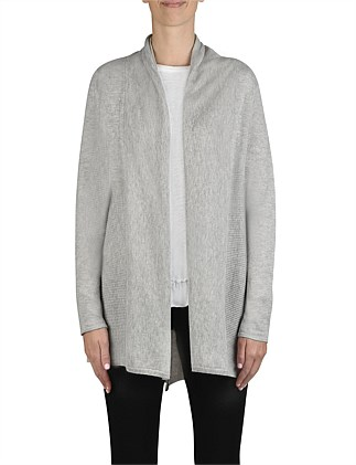 V Hem Edge to Edge Cardigan
