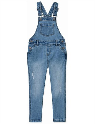 Distressed Overall (Girls 2-12)