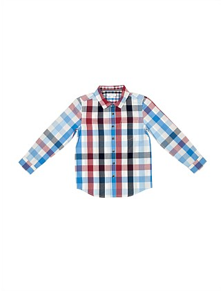 L/S Check Shirt (Boys 8-16 Years)
