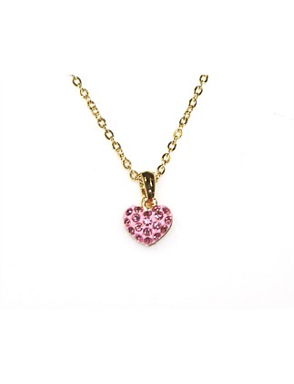 LITTLE DIAMANTE HEART NECKLACE