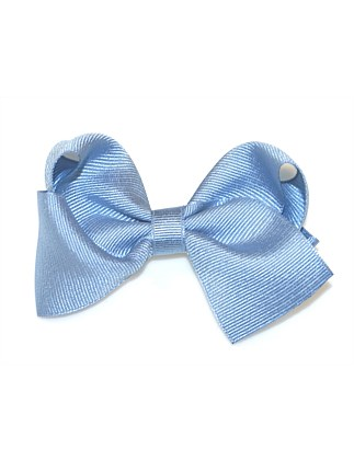 GROSGRAIN LARGE TURNED BOW CLIP