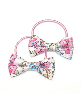 LIBERTY FELICITE BOW PONYTAILS