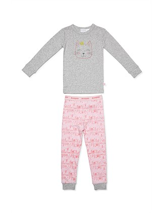 Princess Cat PJ Set