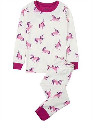 Majestic Unicorns Organic Cotton Pajama Set
