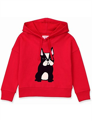 Frenchie Hoodie (Girls 2-12)