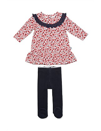 Dress & Tights(NB-12M)