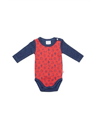Long Slv Bodysuit(NB-12M)