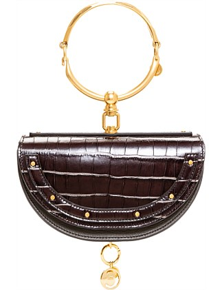 NILE MINAUDIERE LEATHER BAG