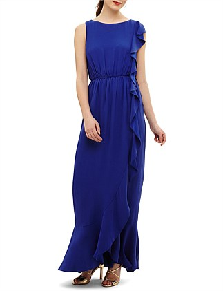 f4e9cd7ebe589 BIANA FRILL MAXI DRESS Special Offer