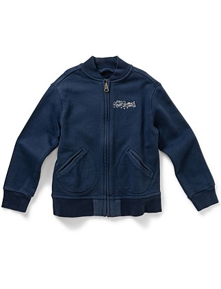 French Terry Baseball Jacket (2-4 Years)